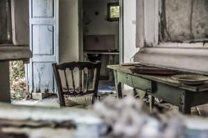 Verlaten huis