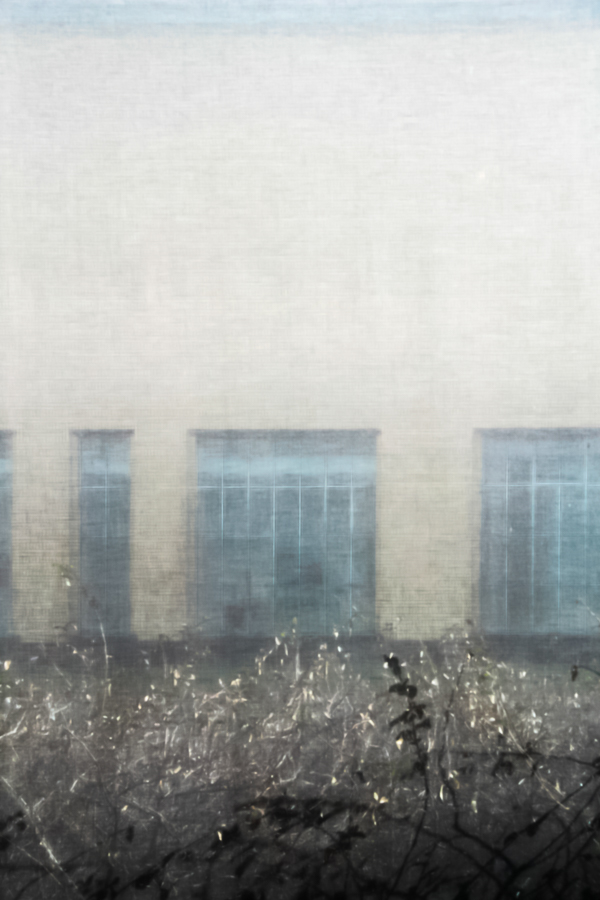 blauwe ramen